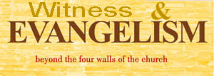 witness and evangelism emblem