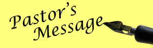 pastors message pen and pad